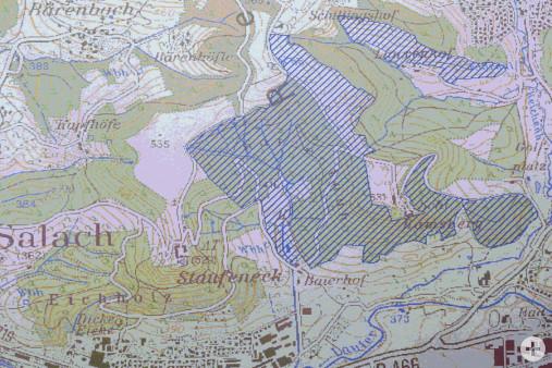 Teilgebiet FFH Rehgebirge und Krummtal