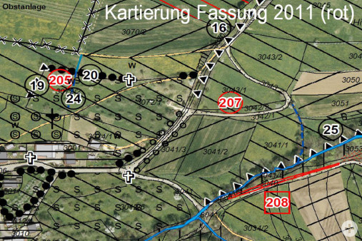 Kartierung Fassung 2011 rot