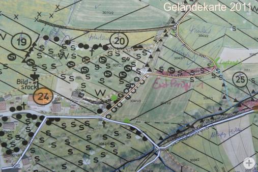 Geländekarte 2011